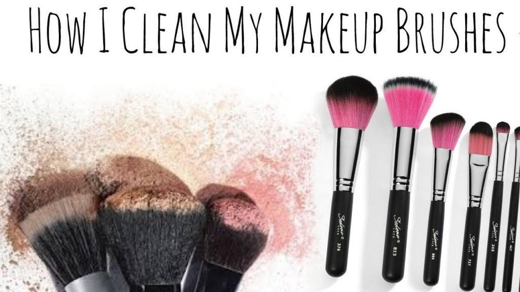How I Clean My Make-up Brushes & Sponges // Wabosha Maxine