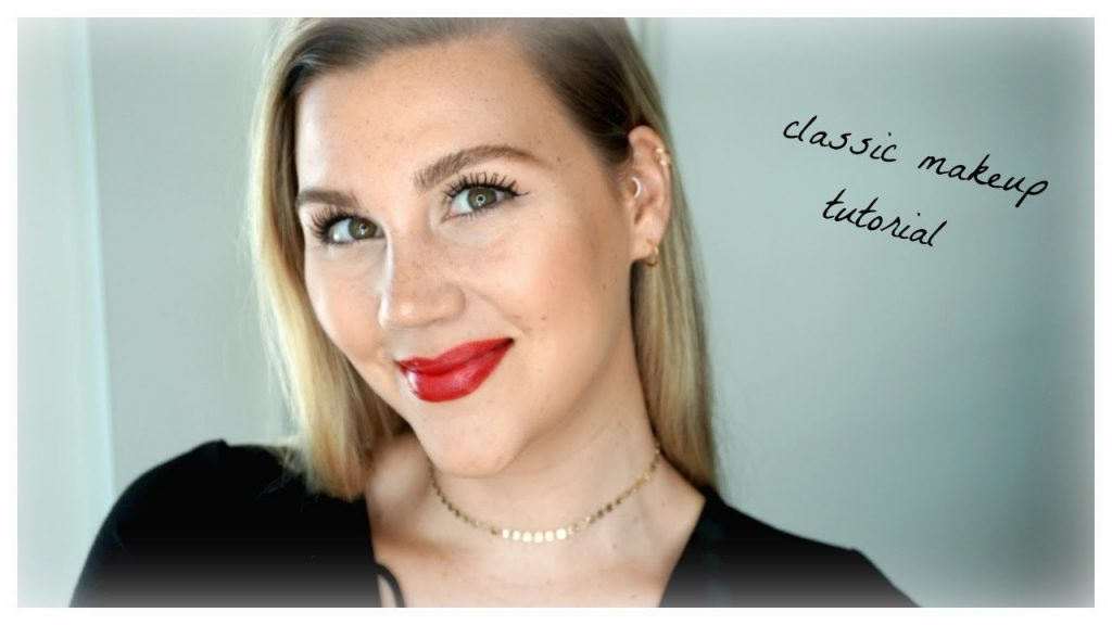 Classic Red Lip Makeup Tutorial (Organic & Non-Toxic) ft: Juice Beauty