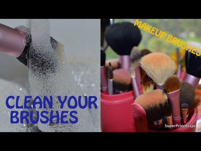 How to Clean Makeup brushes at home in a Budget