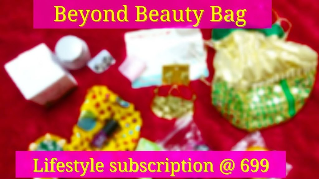 *New* Beyond Beauty Bag @ ₹699| Skincare |Accessories | Makeup
