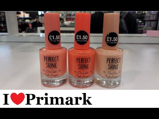 Primark Cosmetics & makeup | October 2017 | I❤Primark