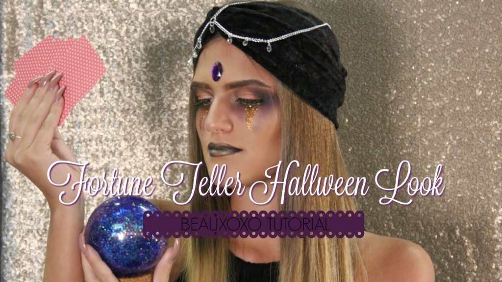 Fortune Teller Make Up Tutorial | Halloween Costume Ideas by Beauxoxo