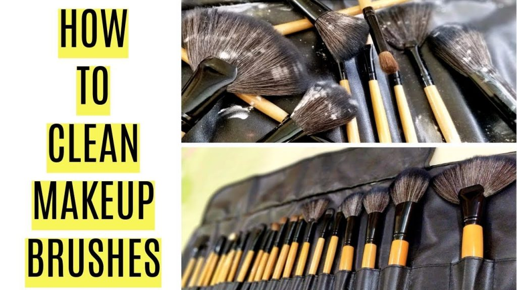 How to Clean Makeup Brushes- Quick & Easy | Ramsha Sultan