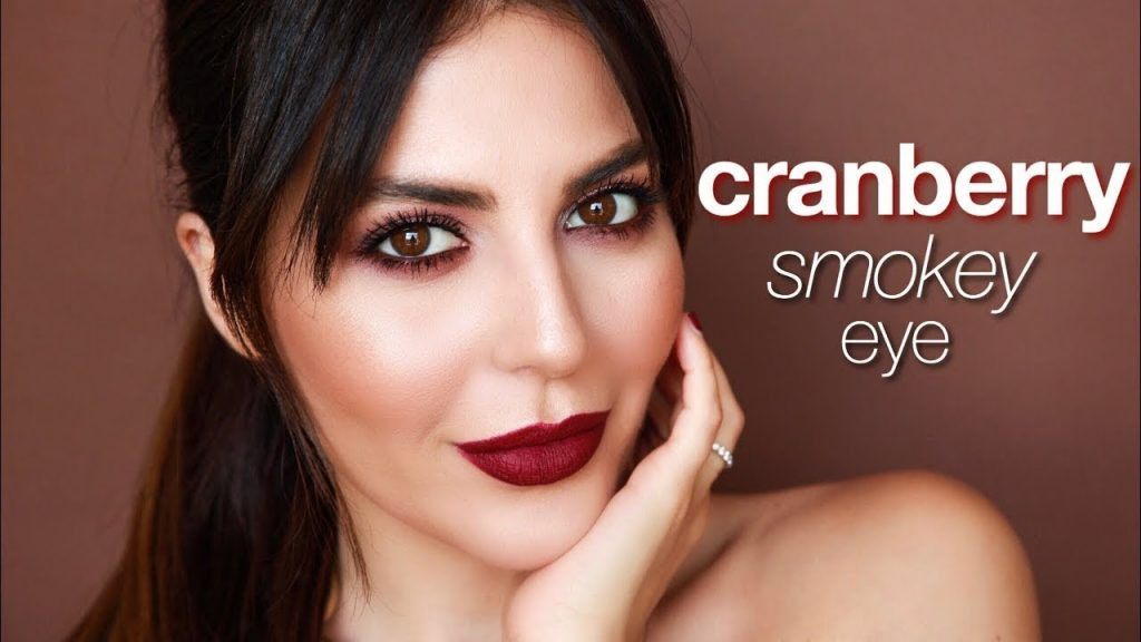 Cranberry Smokey Eye Makeup Tutorial | Sona Gasparian