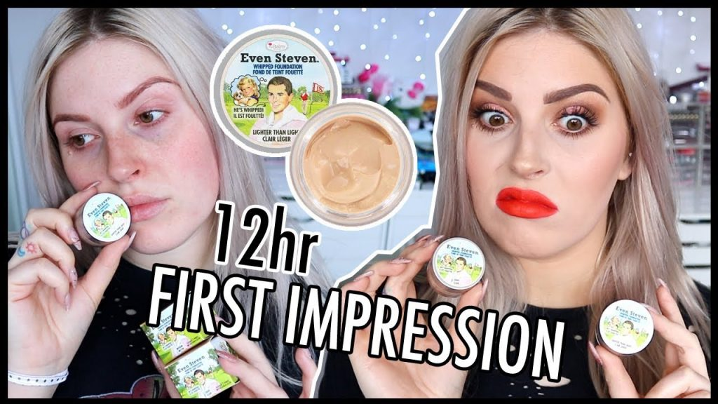 The Balm Even Steven (Rip Off??) 🤔 FOUNDATION FIRST IMPRESSION WEAR TEST