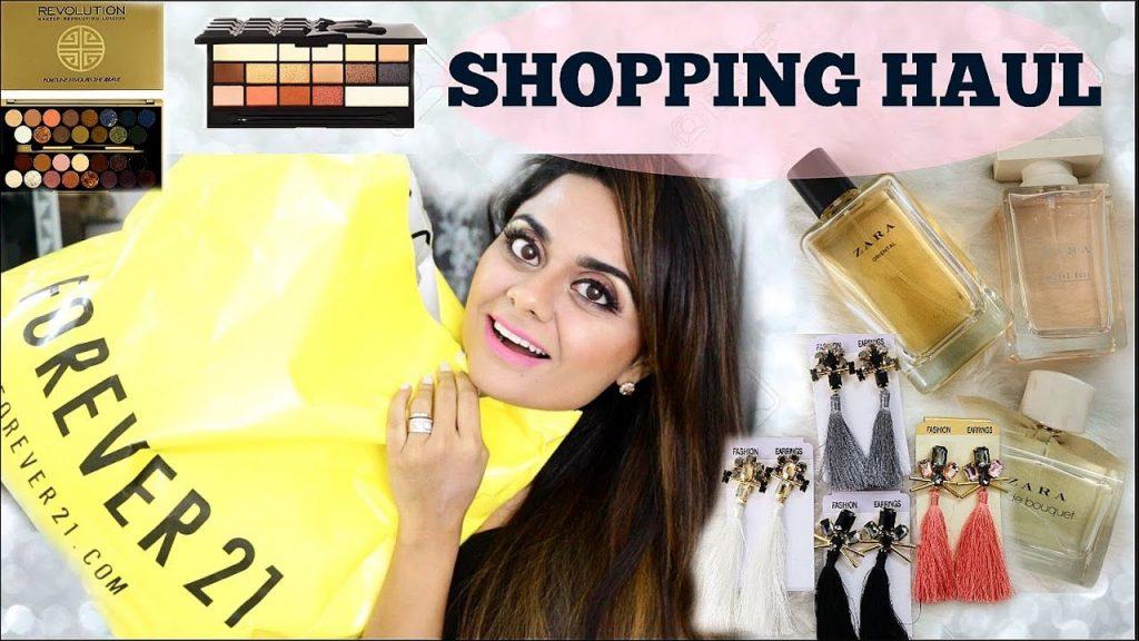 Shopping & Makeup Haul – Amazon, Zara, Forever 21, Makeup Revolution | Namrita Gulati
