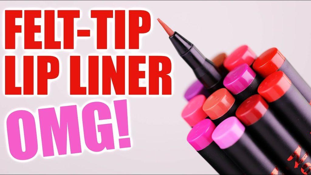 FELT-TIP LIQUID LIP LINER … OMG!!!