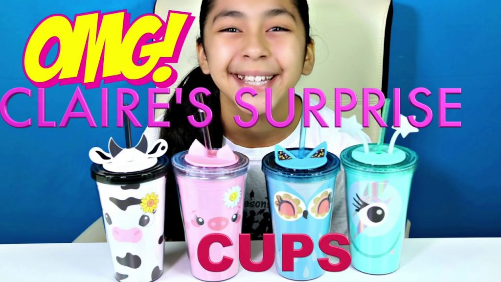 4 Claires Surprise Cups Cute Girls Makeup,Accessories Jewelry |B2cutecupcakes