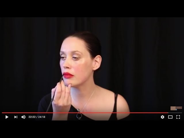 Tutorial for Spring Daytime Makeup; Bold Lip Makeup Tutorial