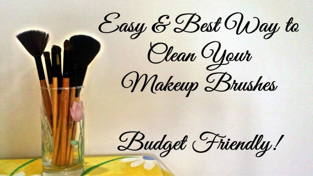 How To Clean Makeup Brushes | Under Rs 100 | DIY Wednesday