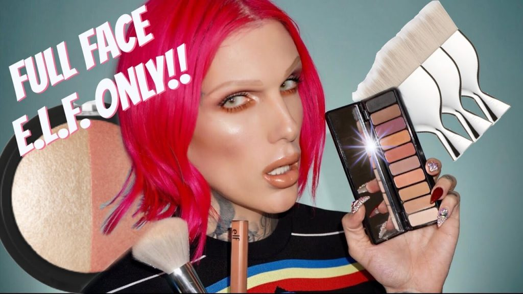 FULL FACE USING ONLY E.L.F. PRODUCTS!!   Jeffree Star
