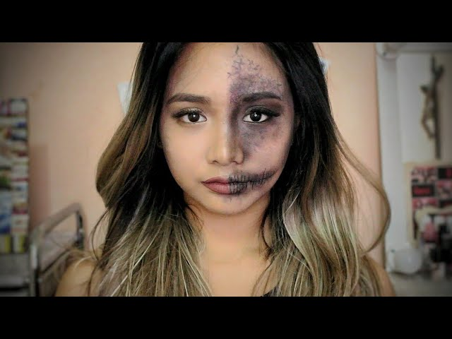 Madaling Halloween Makeup Tutorial! Christen Dominique Inspired! COLLAB