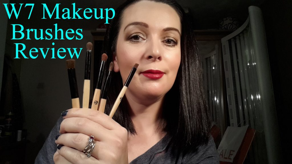 W7 Makeup Brushes Review