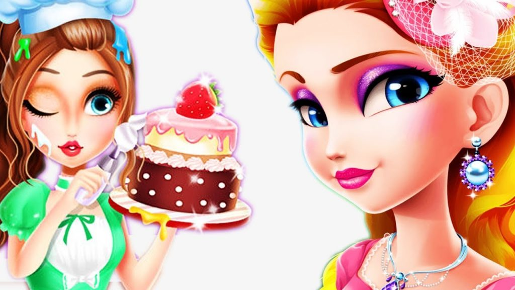 DressUp MakeUp Tea Party – Play Girl Doll Shoe Accessories Decoration – Play Toys