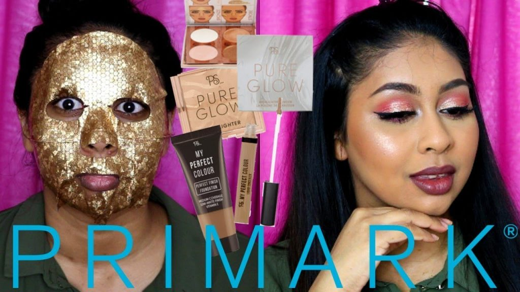FULL FACE OF NEW PRIMARK MAKEUP