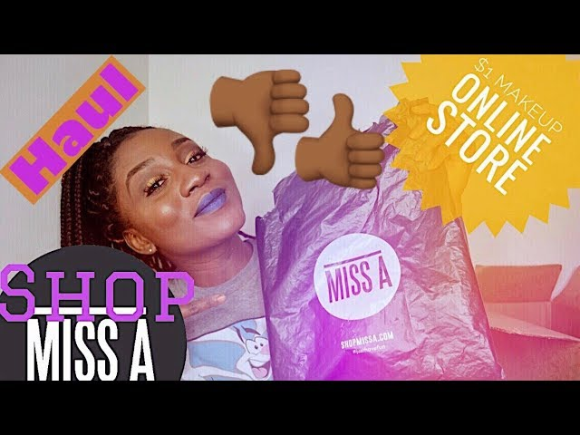 SHOPMISSA HAUL :MAKEUP AND ACCESSORIES