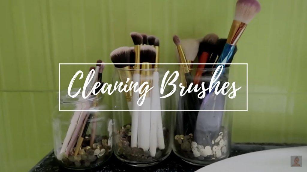 How I wash my Make up Brushes
