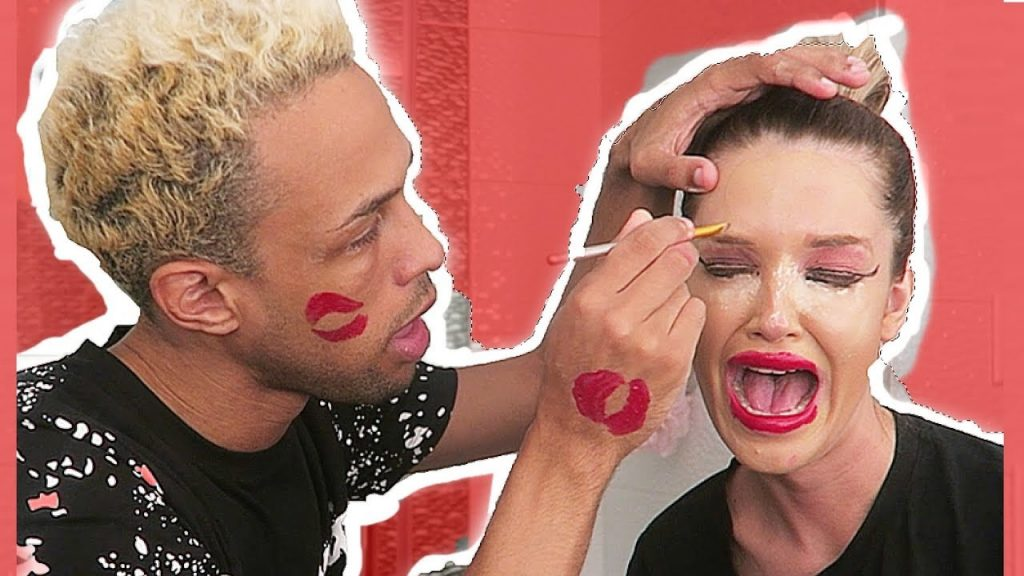 I CANT BELIEVE HE DID THIS TO MY FACE (major makeup fail)