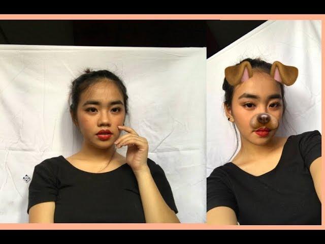 Red lip makeup look | Kyla Gylle