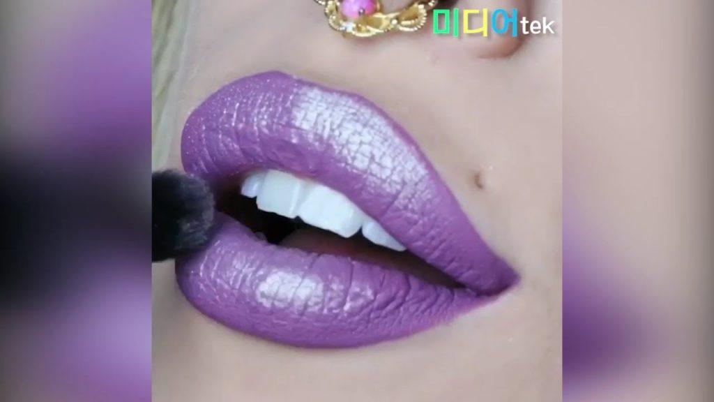 보면볼수록 기분좋은 립메이크업 영상모음 #18, Makeup Lip art video compilation #18