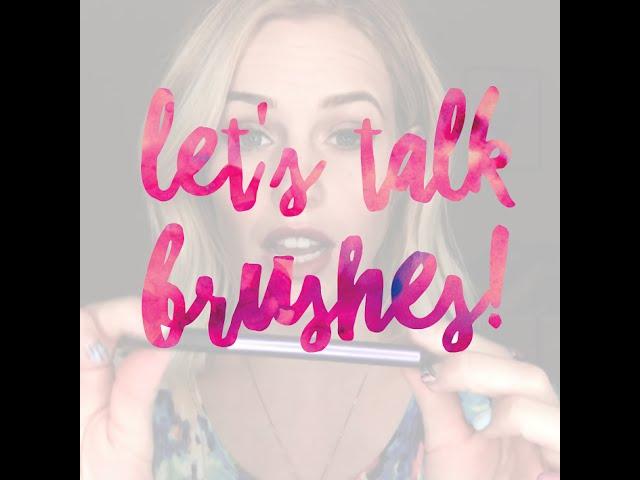 let's talk brushes!!