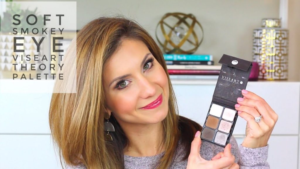 Viseart Theory Palette | EASY Soft Smokey Eye Makeup | Lisa J Makeup
