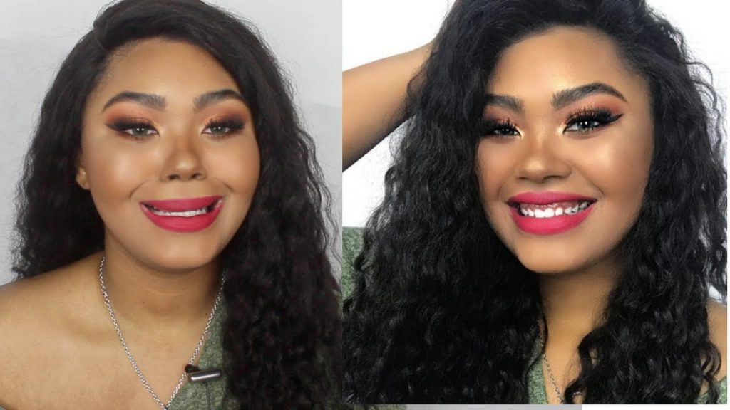 Applying Several Pounds of Makeup to My Face & Wearing a Wig ft WOWAfrican | KennieJD