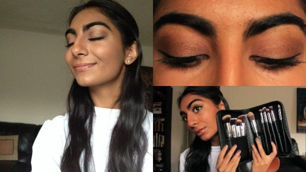 FULL FACE MAKEUP TUTORIAL | FT. Fantcen Makeup Brushes!