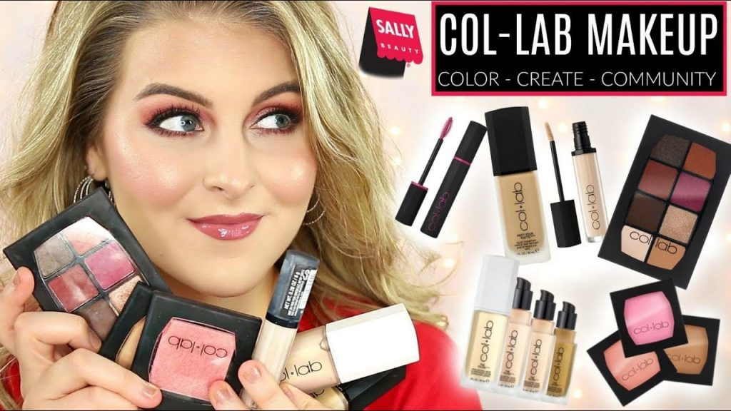NEW BRAND at SALLY BEAUTY | COL-LAB MAKEUP | Full Face of Reviews