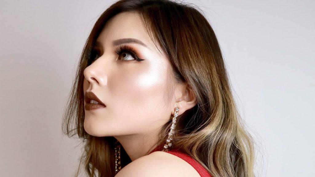Bold lip makeup look / Fall Makeup Tutorial | Christine Sindoko