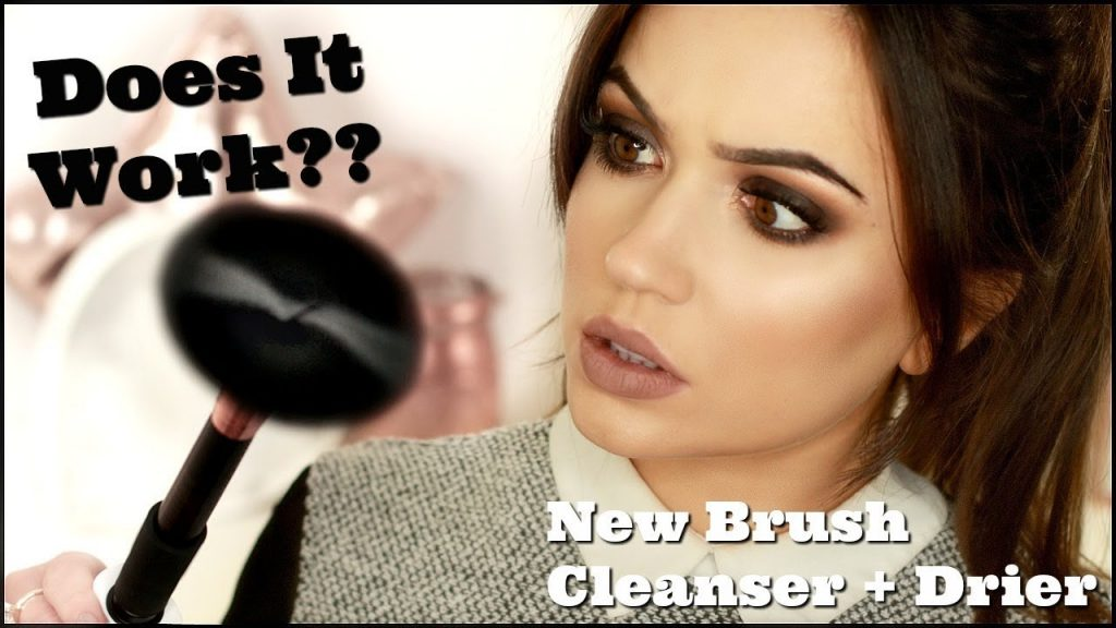 Makeup Brush Cleaner + Drier in Seconds! | TheMakeupChair Review