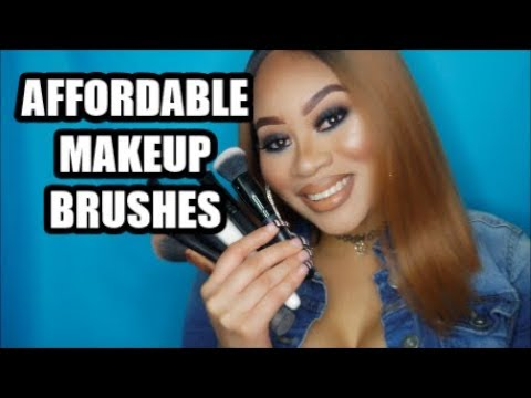 MY FAVORITE AFFORDABLE MAKEUP BRUSHES!
