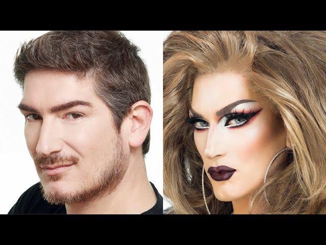 Transformación – Resting Bitch face  Drag Queen Makeup