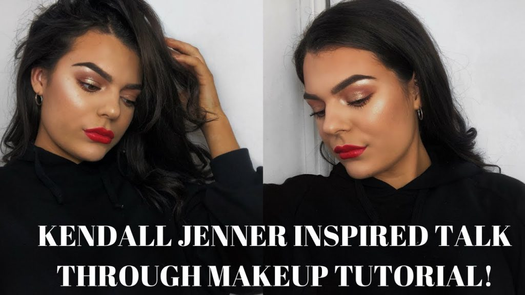 KENDALL JENNER INSPIRED RED LIP MAKEUP TUTORIAL | Abigail Tamsin