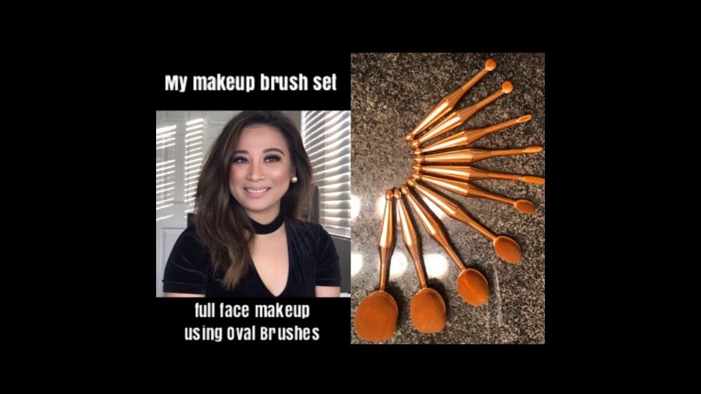 My makeup Brush Set Oval brushes