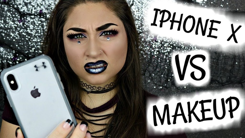 IPHONE X FACIAL RECOGNITION VS FULL FACE OF MAKEUP CHALLENGE | Beautybyjosiek IPhone 10 New IPhone