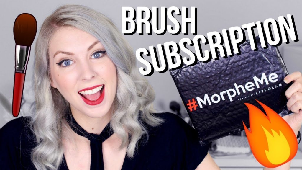🖌 MorpheMe Makeup Brushes Unboxing | Liveglam November 2017