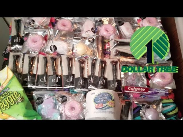 😱💖💖 $1 DOLLAR TREE HAUL  | MORE NAMEBRAND MAKEUP BRUSHES & BATH BOMBS! | BEAUTY GIFTS IDEAS