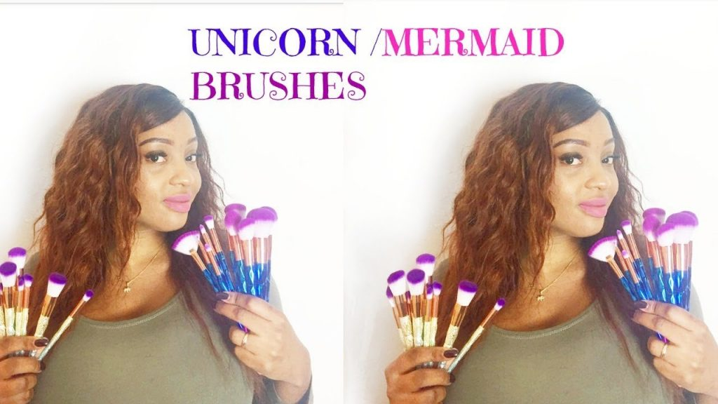 🦄UNICORN MAKEUP BRUSHES |FIRST IMPRESSIONS