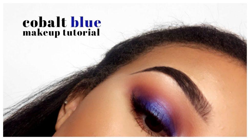 COBALT BLUE Smokey Eye Makeup Tutorial