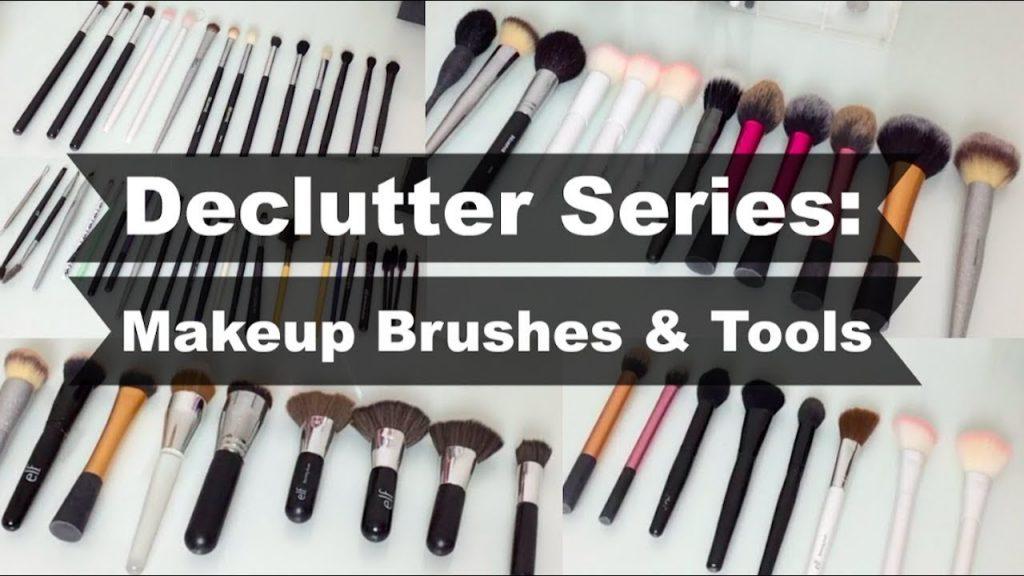 Declutter Series: Makeup Brushes & Tools