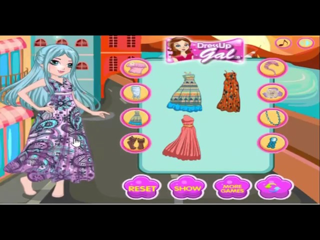 Dressup games for girls hair cut and Mickey August and makeup accessories new | girl game dress up |