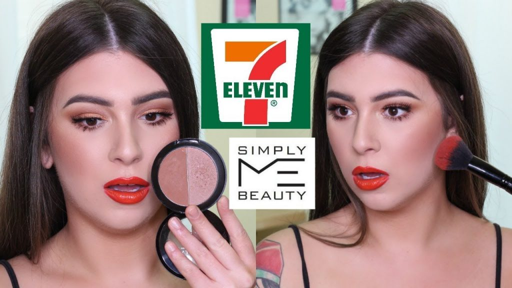 FULL FACE USING 7-ELEVEN'S MAKEUP BRAND…? | Carly Humbert