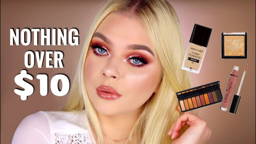 FULL FACE NOTHING OVER $10 | Rose Gold Makeup Tutorial