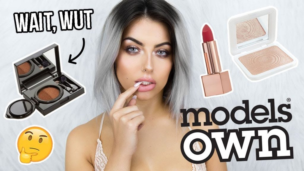 TESTING MODELS OWN MAKEUP! FULL FACE OF FIRST IMPRESSIONS / ONE BRAND TUTORIAL