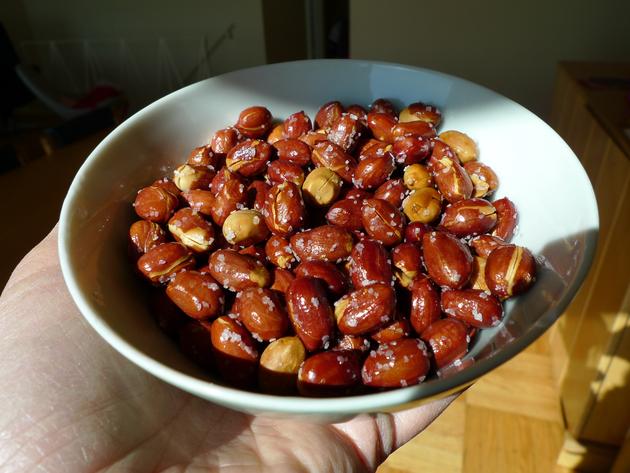 salty peanuts by joanie