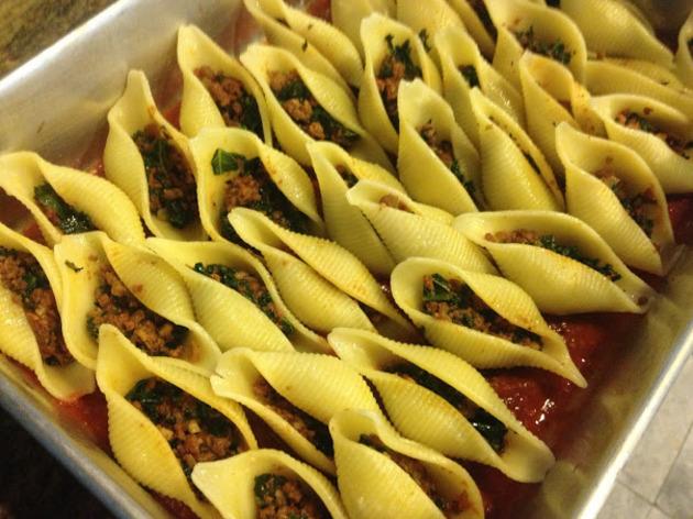 Pasta shells by Sarah Kurniawan
