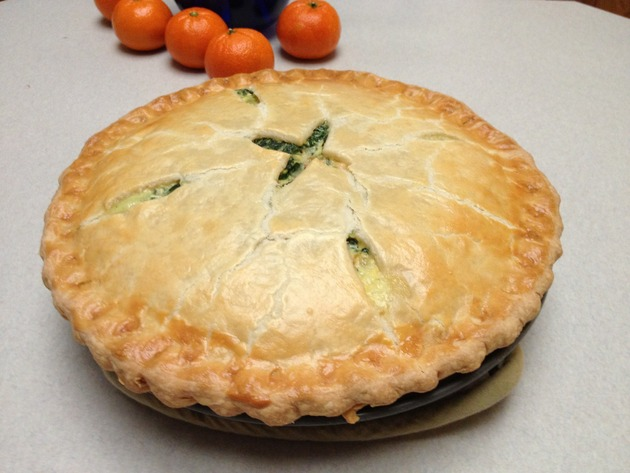 Spinach and Ham Pie by car2ngrl