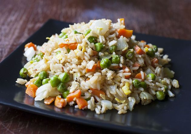 Egg Fried Rice by sandhirarecipes