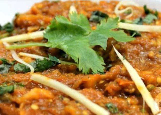 Baingan Bharta by sandhirarecipes